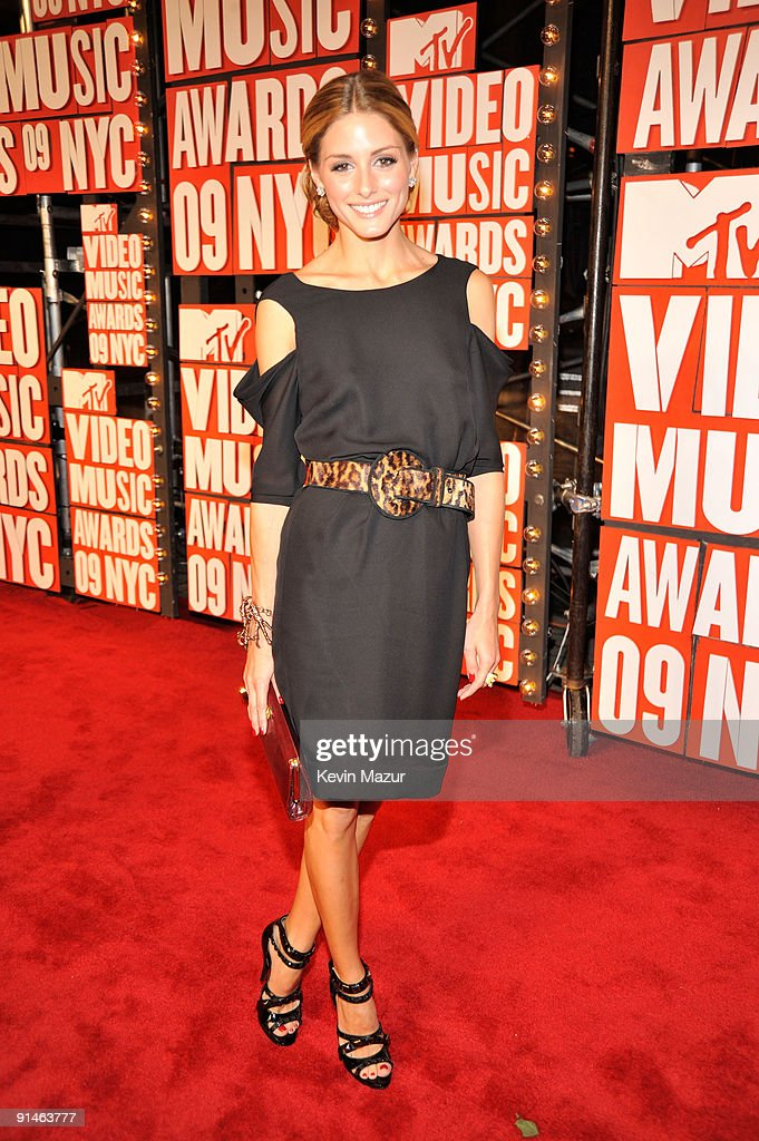 Olivia Palermo attends the 2009 MTV Video Music Awards at Radio City Music Hall on September 13, 2009 in New York City.