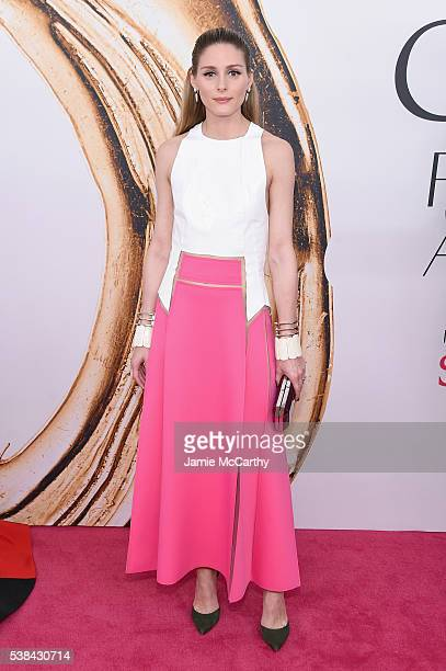 Olivia Palermo attends the 2016 CFDA Fashion Awards at the Hammerstein Ballroom on June 6 2016 in New York City