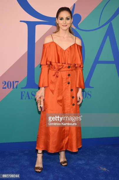 Olivia Palermo attends the 2017 CFDA Fashion Awards at Hammerstein Ballroom on June 5 2017 in New York City