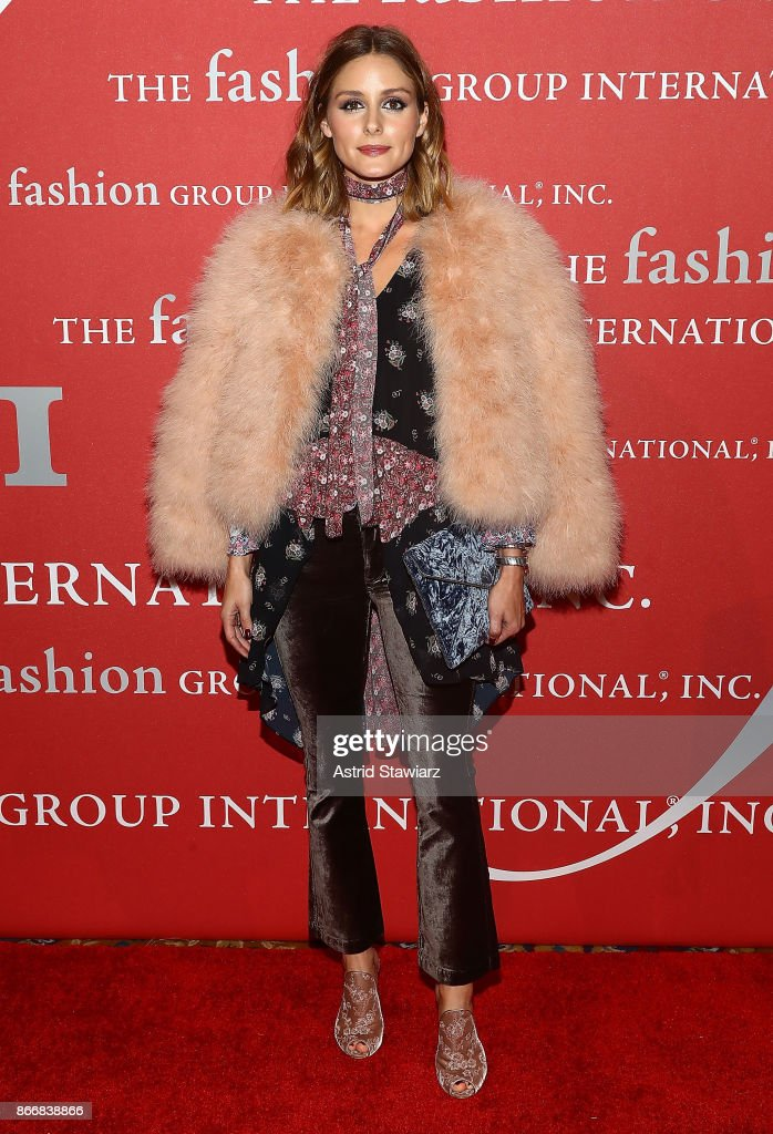 Olivia Palermo attends the 2017 FGI Night Of Stars Modern Voices gala at Cipriani Wall Street on October 26, 2017 in New York City.