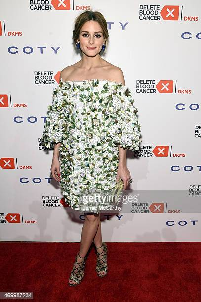 Olivia Palermo attends the 9th Annual Delete Blood Cancer Gala on April 16 2015 in New York City