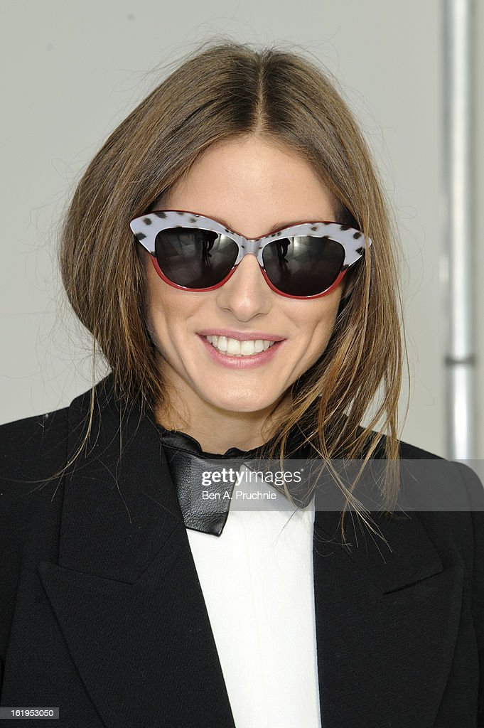 <a gi-track='captionPersonalityLinkClicked' href=/galleries/search?phrase=Olivia+Palermo&family=editorial&specificpeople=2639086 ng-click='$event.stopPropagation()'>Olivia Palermo</a> attends the Antonio Berardi show during London Fashion Week Fall/Winter 2013/14 at on February 18, 2013 in London, England.
