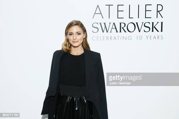 Olivia Palermo attends the Atelier Swarovski By Jason Wu dinner as part of the Paris Fashion Week Womenswear Spring/Summer 2018 on September 28 2017...