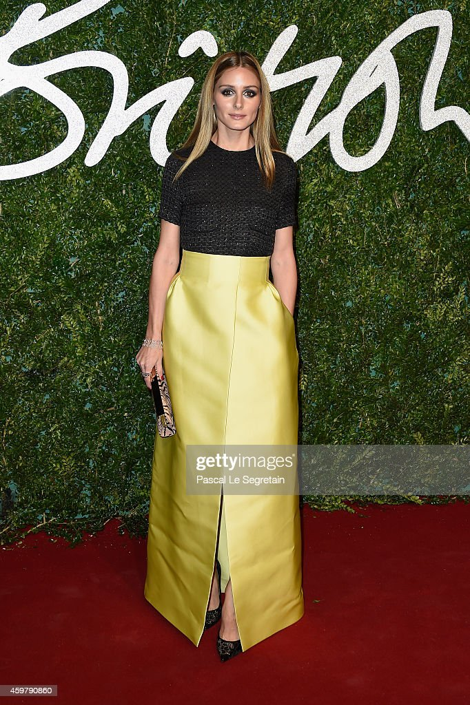 Olivia Palermo attends the British Fashion Awards at London Coliseum on December 1, 2014 in London, England.