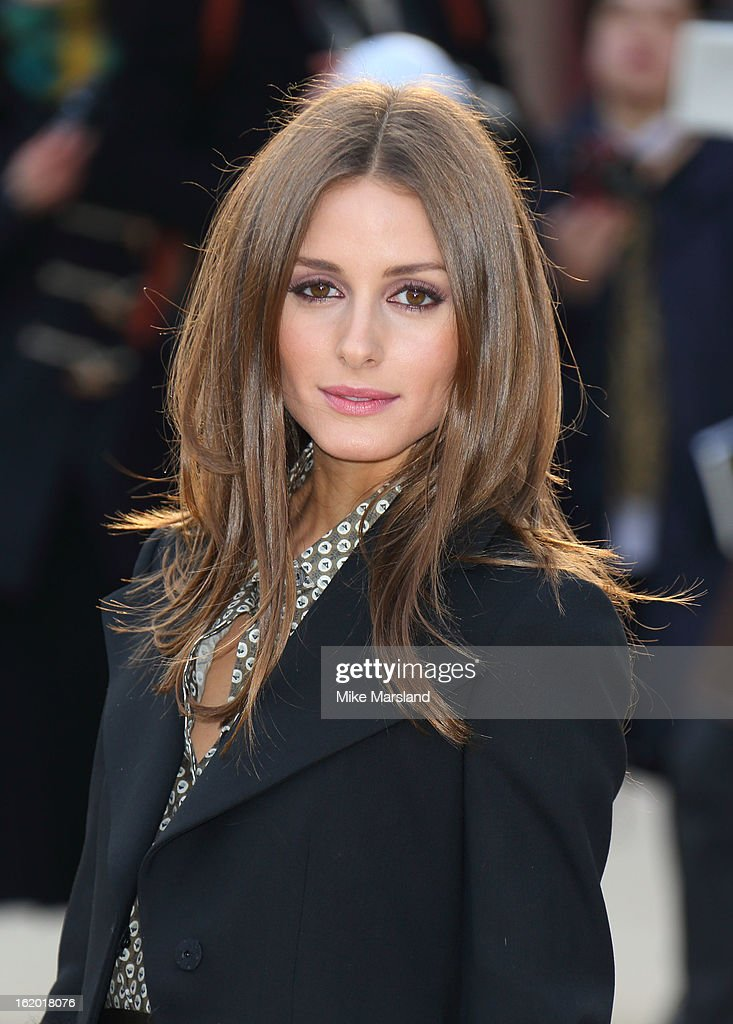 Olivia Palermo attends the Burberry Prorsum show during London Fashion Week Fall/Winter 2013/14 at on February 18, 2013 in London, England.