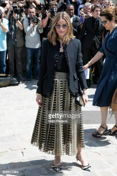Olivia Palermo attends the Christian Dior Haute Couture Fall/Winter 20172018 show as part of Paris Fashion Week on July 3 2017 in Paris France