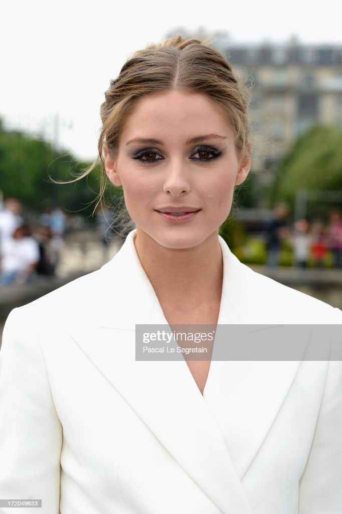 <a gi-track='captionPersonalityLinkClicked' href=/galleries/search?phrase=Olivia+Palermo&family=editorial&specificpeople=2639086 ng-click='$event.stopPropagation()'>Olivia Palermo</a> attends the Christian Dior show as part of Paris Fashion Week Haute-Couture Fall/Winter 2013-2014 at Hotel Des Invalides on July 1, 2013 in Paris, France.