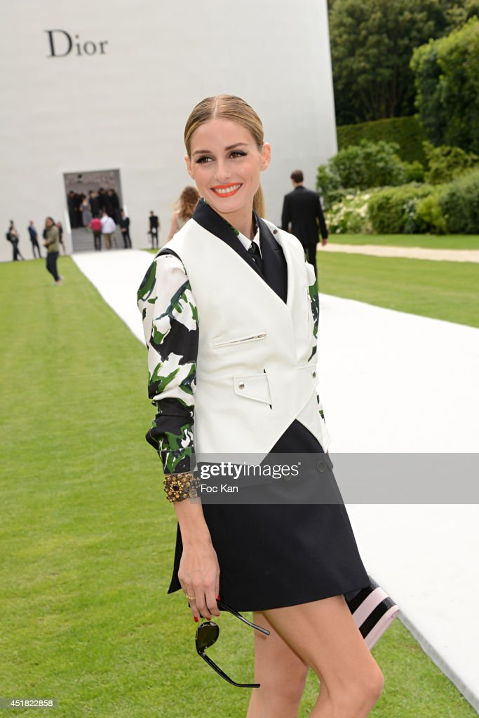 <a gi-track='captionPersonalityLinkClicked' href=/galleries/search?phrase=Olivia+Palermo&family=editorial&specificpeople=2639086 ng-click='$event.stopPropagation()'>Olivia Palermo</a> attends the Christian Dior Show as part of Paris Fashion Week - Haute Couture Fall/Winter 2014-2015 at Musee Rodin on July 7, 2014 in Paris, France.