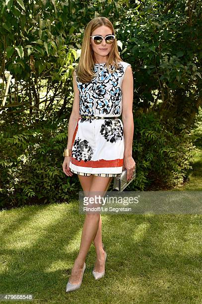 Olivia Palermo attends the Christian Dior show as part of Paris Fashion Week Haute Couture Fall/Winter 2015/2016 on July 6 2015 in Paris France