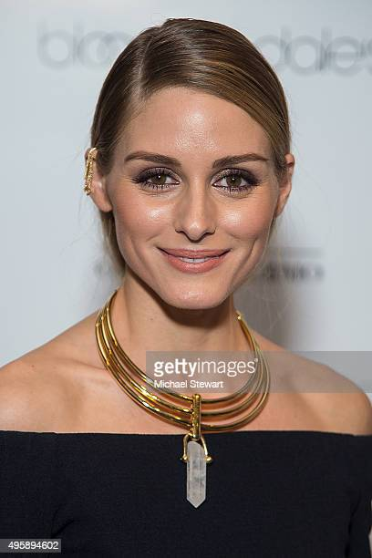 Olivia Palermo attends the Ciate London collection launch at Bloomingdale's on November 5 2015 in New York City