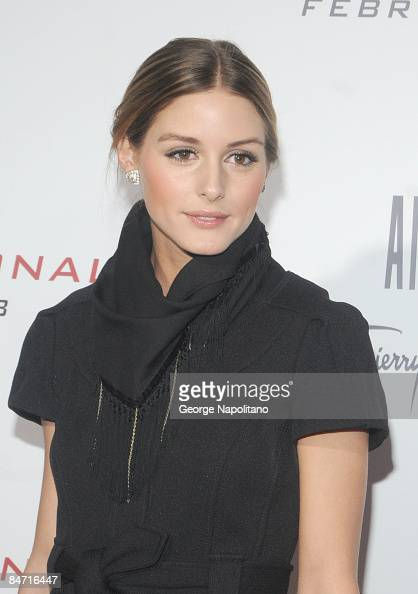 Olivia Palermo attends the Cinema Society and Angel by Thierry Mugler screening of 'The International' at AMC Lincoln Square on February 9 2009 in...