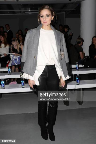 Olivia Palermo attends the David Koma show during London Fashion Week September 2017 on September 18 2017 in London England