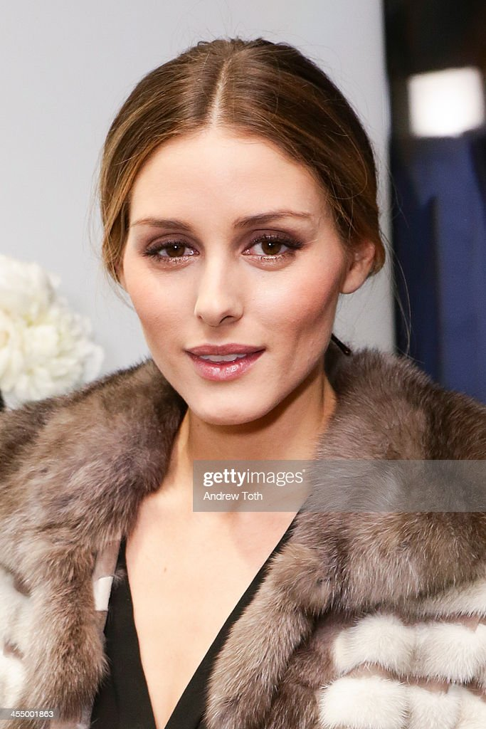 Olivia Palermo attends the Dennis Basso Store Opening at Dennis Basso Store on December 10, 2013 in New York City.