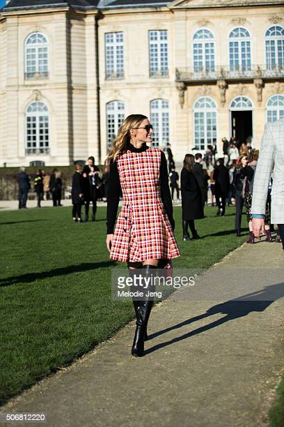 Olivia Palermo attends the Dior Couture show at Musee Rodin on January 25 2016 in Paris France