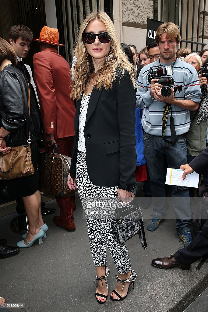 <a gi-track='captionPersonalityLinkClicked' href=/galleries/search?phrase=Olivia+Palermo&family=editorial&specificpeople=2639086 ng-click='$event.stopPropagation()'>Olivia Palermo</a> attends the Elie Saab show as part of Paris Fashion Week - Haute Couture Fall/Winter 2014-2015 at Pavillon Cambon Capucines on July 9, 2014 in Paris, France.