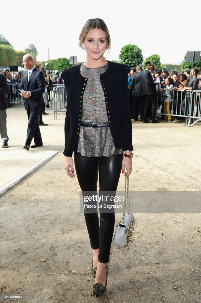 <a gi-track='captionPersonalityLinkClicked' href=/galleries/search?phrase=Olivia+Palermo&family=editorial&specificpeople=2639086 ng-click='$event.stopPropagation()'>Olivia Palermo</a> attends the Elie Saab show as part of the Paris Fashion Week Womenswear Spring/Summer 2014 at Espace Ephemere Tuileries on September 30, 2013 in Paris, France.