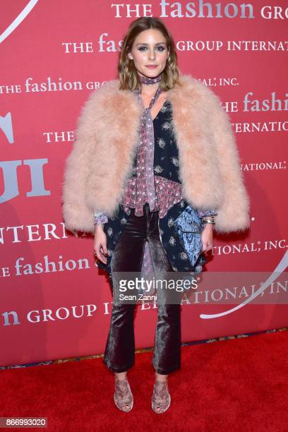 Olivia Palermo attends the Fashion Group International's 34th Annual Night of Stars Gala at Cipriani Wall Street on October 26 2017 in New York City