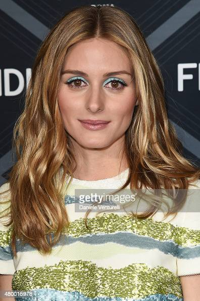Olivia Palermo attends the Fendi show as part of Paris Fashion Week Haute Couture Fall/Winter 2015/2016 on July 8 2015 in Paris France