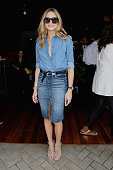 Olivia Palermo attends the Gant Rugger presentation during MercedesBenz Fashion Week Spring 2015 at Maritime Hotel on September 5 2014 in New York...