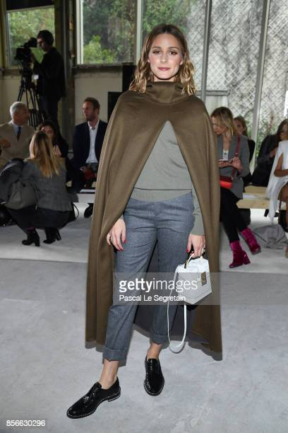 Olivia Palermo attends the Giambattista Valli show as part of the Paris Fashion Week Womenswear Spring/Summer 2018 on October 2 2017 in Paris France