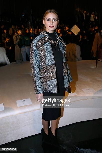 Olivia Palermo attends the HM Studio show as part of the Paris Fashion Week Womenswear Fall/Winter 2016/2017 on March 2 2016 in Paris France
