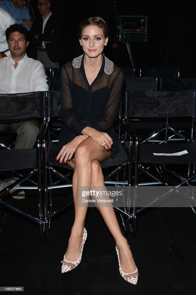 Olivia Palermo attends the 'Intimissimi Fall/Winter 2013 Fashion Show' on July 25, 2012 in Verona, Italy.