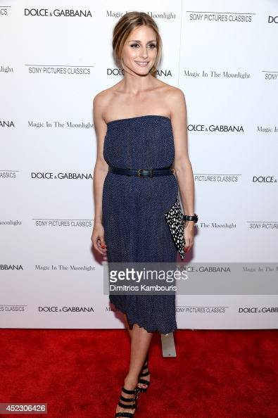 Olivia Palermo attends the 'Magic In The Moonlight' premiere at the Paris Theater on July 17 2014 in New York City