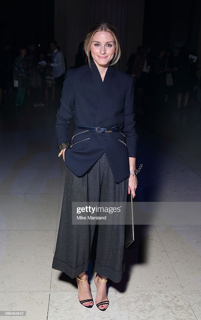 Olivia Palermo attends the Matthew Williamson show during London Fashion Week Spring Summer 2015 on September 14 2014 in London England