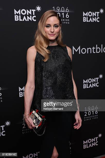 Olivia Palermo attends the Montblanc 110 Year Anniversary Gala Dinner on April 5 2016 in New York City