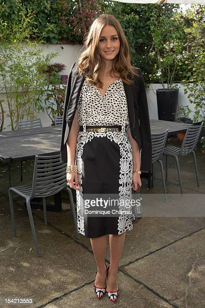 Olivia Palermo attends the Montblanc Exclusive Luncheon Masters for Meisterstuck L'Aubrac Collection Launch on October 16 2012 in Paris France