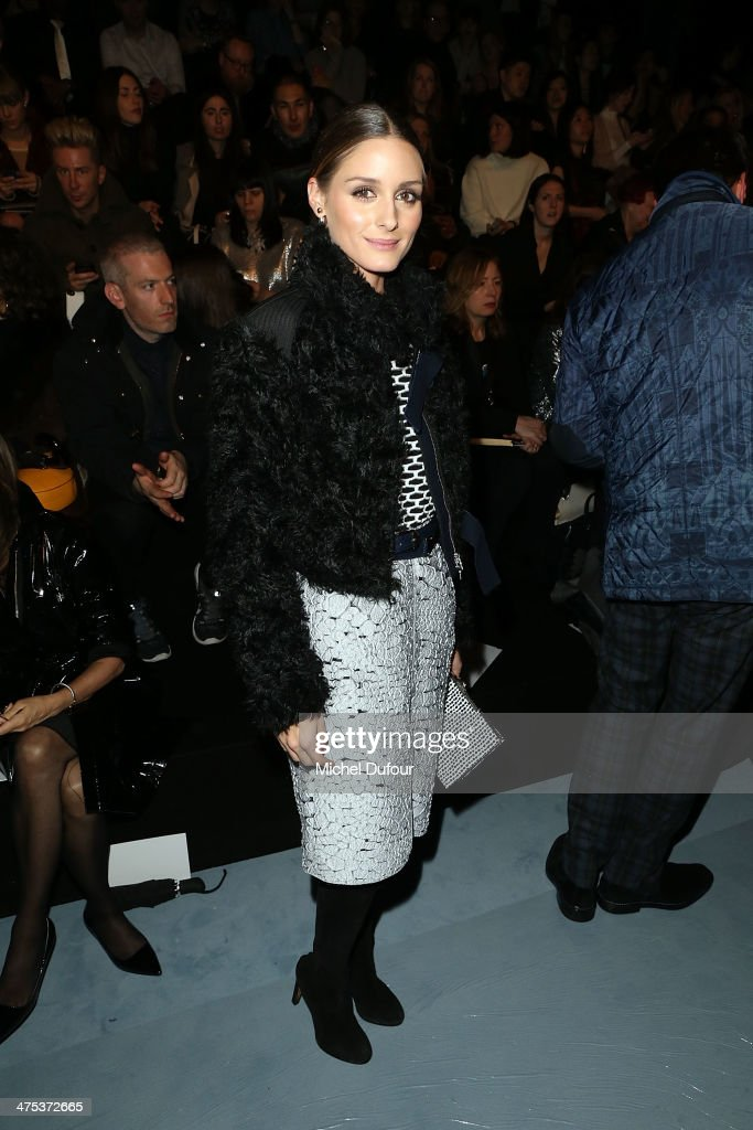 <a gi-track='captionPersonalityLinkClicked' href=/galleries/search?phrase=Olivia+Palermo&family=editorial&specificpeople=2639086 ng-click='$event.stopPropagation()'>Olivia Palermo</a> attends the Nina Ricci show as part of the Paris Fashion Week Womenswear Fall/Winter 2014-2015 on February 27, 2014 in Paris, France.