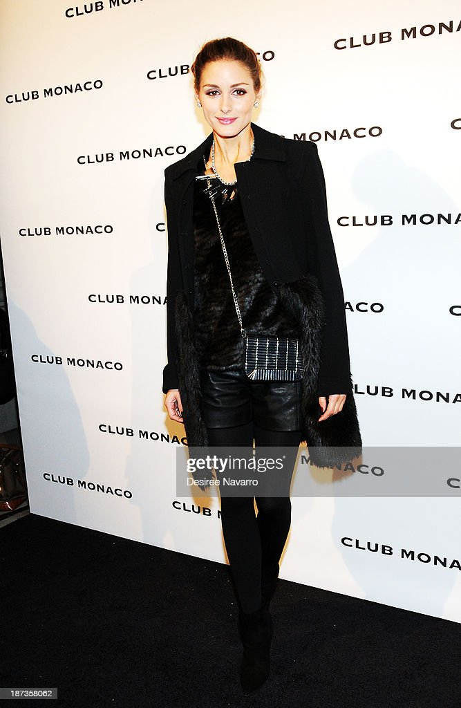 <a gi-track='captionPersonalityLinkClicked' href=/galleries/search?phrase=Olivia+Palermo&family=editorial&specificpeople=2639086 ng-click='$event.stopPropagation()'>Olivia Palermo</a> attends the opening celebration of Club Monoco's Fifth Avenue Flagship at Club Monaco Fifth Avenue on November 7, 2013 in New York City.