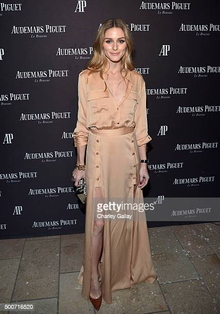 Olivia Palermo attends the Opening of Audemars Piguet Rodeo Drive at Audemars Piguet on December 9 2015 in Beverly Hills California