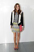 Olivia Palermo attends the Preen By Thornton Bregazzi show during London Fashion Week Fall/Winter 2013/14 at on February 17 2013 in London England