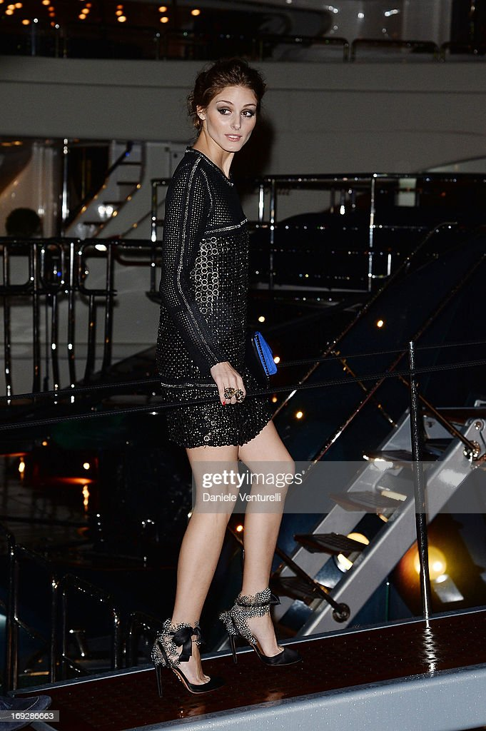 Olivia Palermo attends the Roberto Cavalli Yacht Party during The 66th Annual Cannes Film Festival on May 22, 2013 in Cannes, France.