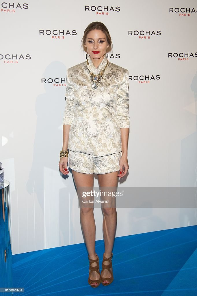 <a gi-track='captionPersonalityLinkClicked' href=/galleries/search?phrase=Olivia+Palermo&family=editorial&specificpeople=2639086 ng-click='$event.stopPropagation()'>Olivia Palermo</a> attends the Rochas event at the French embassy on April 24, 2013 in Madrid, Spain.
