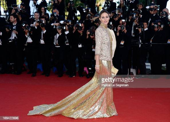 Olivia Palermo attends the 'The Immigrant' premiere during The 66th Annual Cannes Film Festival at the Palais des Festivals on May 24 2013 in Cannes...
