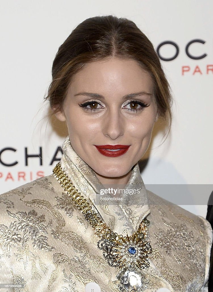 Olivia Palermo attends the Tribut to Freshness and Rochas Women event at the French embassy on April 24, 2013 in Madrid, Spain.
