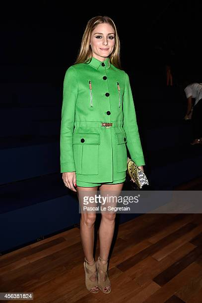 Olivia Palermo attends the Valentino show as part of the Paris Fashion Week Womenswear Spring/Summer 2015 on September 30 2014 in Paris France