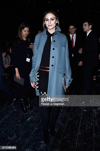 Olivia Palermo attends the Valentino show as part of the Paris Fashion Week Womenswear Fall/Winter 2016/2017 on March 8 2016 in Paris France