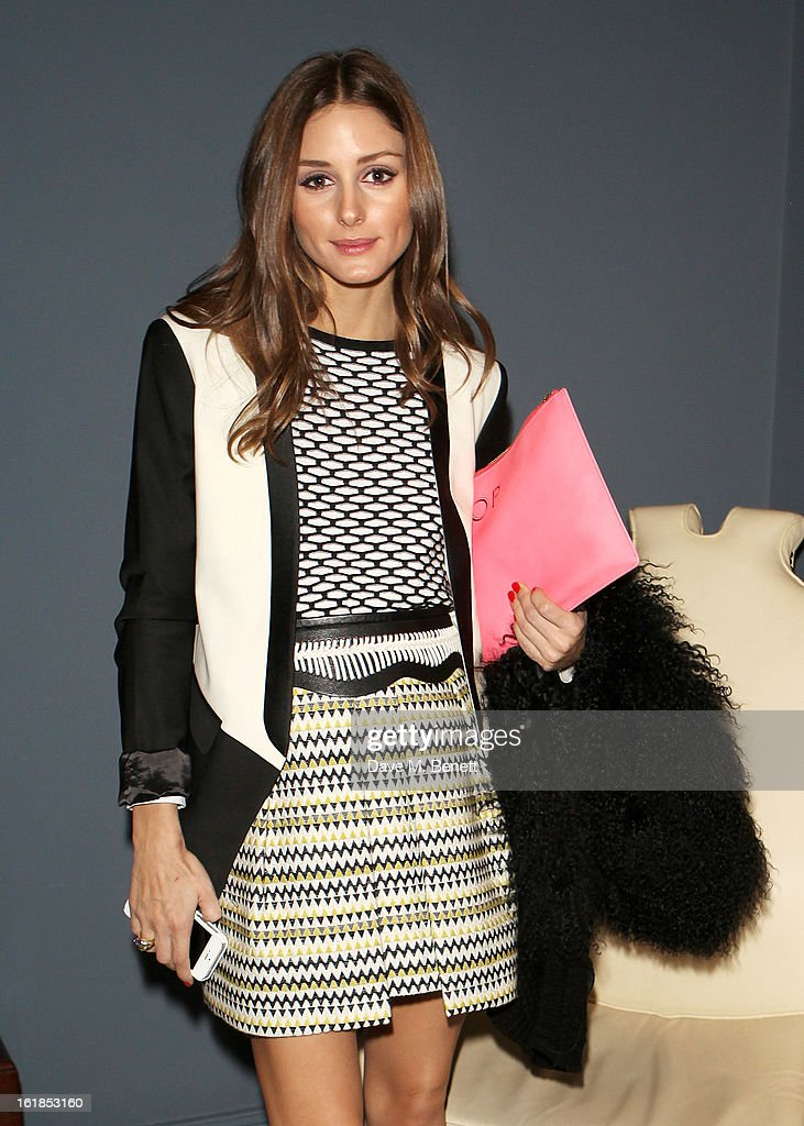 Olivia Palermo attends the Whistles Limited Edition Autumn/Winter 2013 Collection at The Arts Club on February 17, 2013 in London, England.