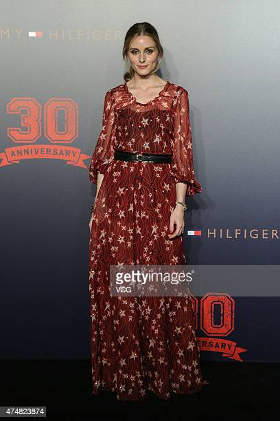 Olivia Palermo attends Tommy Hilfiger's 30th Anniversary at 751DPARK on May 26 2015 in Beijing China