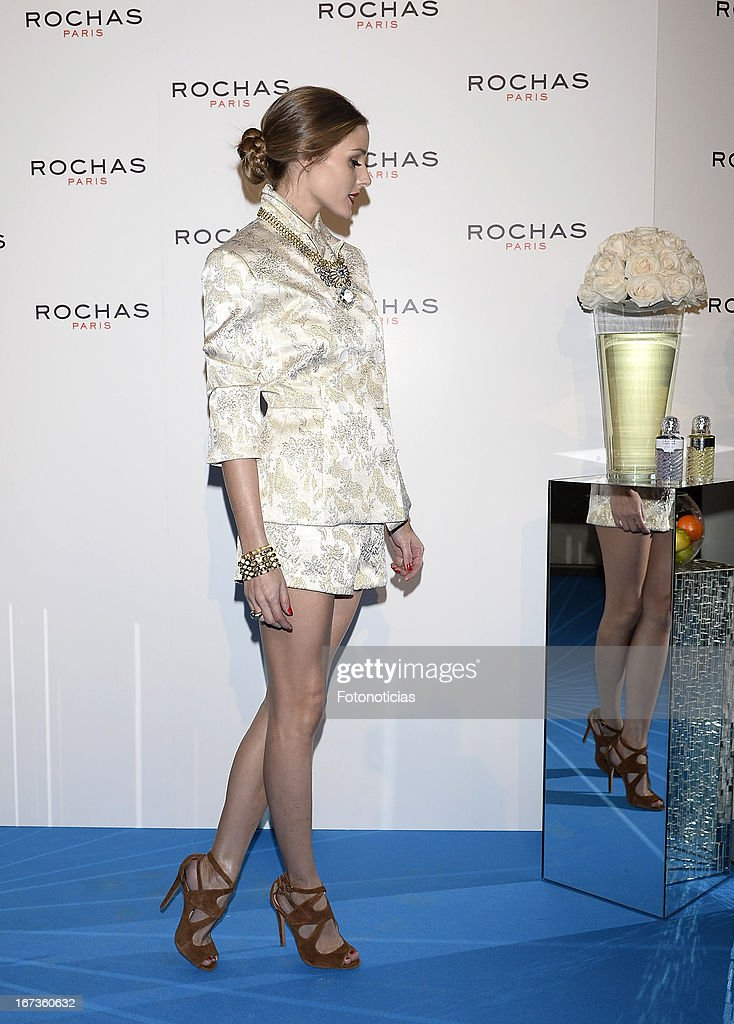 Olivia Palermo attends 'Tribut to Freshness and Rochas Women' event at the French embassy on April 24, 2013 in Madrid, Spain.