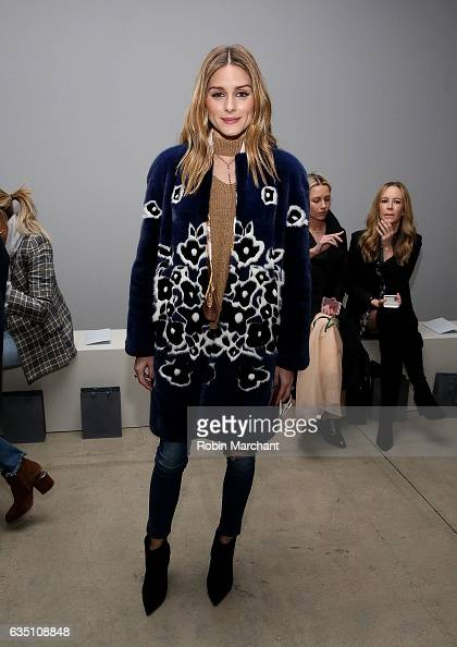 Olivia Palermo attends Zimmermann during New York Fashion Week on February 13 2017 in New York City