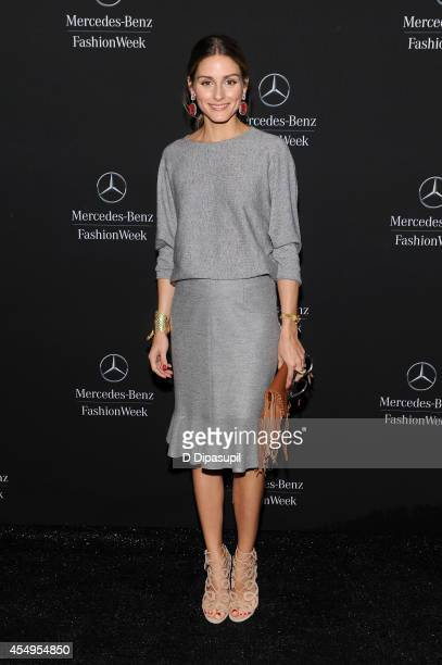 Olivia Palermo is seen during MercedesBenz Fashion Week Spring 2015 at Lincoln Center for the Performing Arts on September 8 2014 in New York City