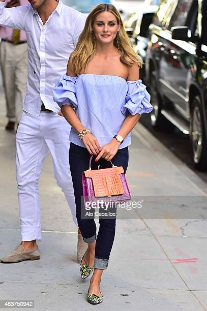 Olivia Palermo is seen on August 12 2015 in New York City
