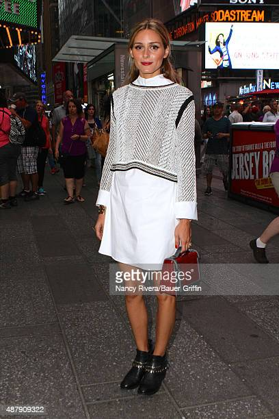 Olivia Palermo is seen on September 12 2015 in New York City