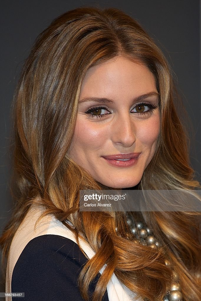 <a gi-track='captionPersonalityLinkClicked' href=/galleries/search?phrase=Olivia+Palermo&family=editorial&specificpeople=2639086 ng-click='$event.stopPropagation()'>Olivia Palermo</a> presents the new 'Pikolinos' Maasai collection at the Corte Ingles Castellana store on May 8, 2013 in Madrid, Spain.