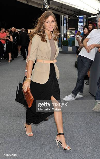 Olivia Palermo seen during Spring 2013 MercedesBenz Fashion Week at Lincoln Center for the Performing Arts on September 12 2012 in New York City
