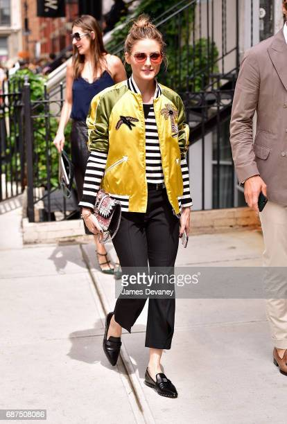 Olivia Palermo seen on the streets of Manhattan on May 23 2017 in New York City